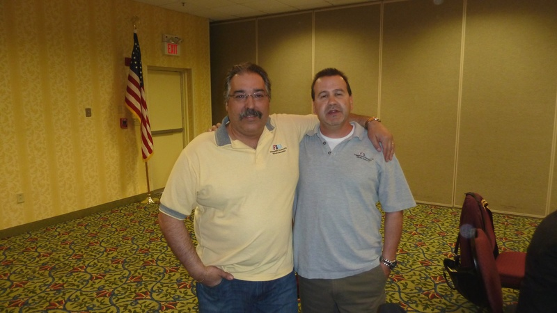 President Moran & Chief Steward Monico